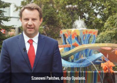 Klip kampanijny prezydenta Opola