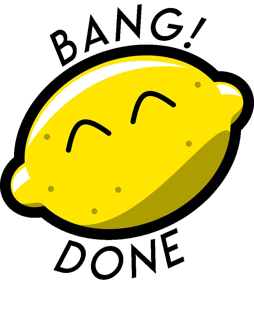 bang! done